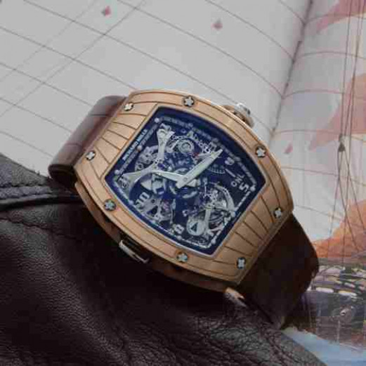 Richard Mille RM 015 Tourbillon Perini Navi Rose Gold-k