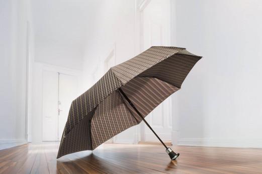 Manufaktur-Taschenschirm Carbonstahl Auf-Zu Orion - Doppler Schirme