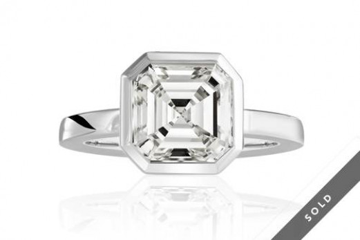 Diamantring Asscher Cut_k