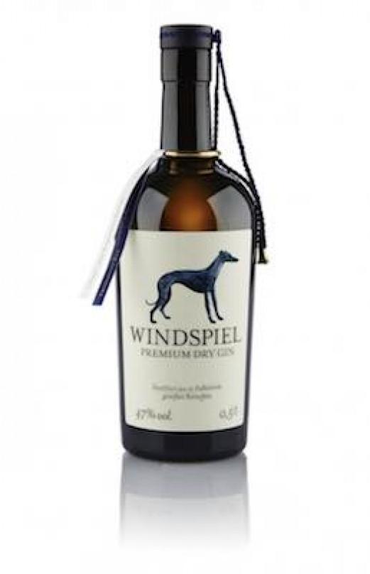 Windspiel Premium Gry Gin bei UNIKATOO klein