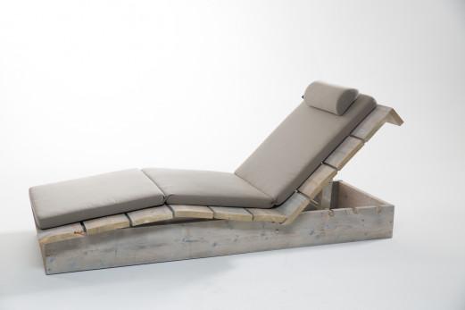 Lounge Sonnenliege - Wittekind Seitenansicht