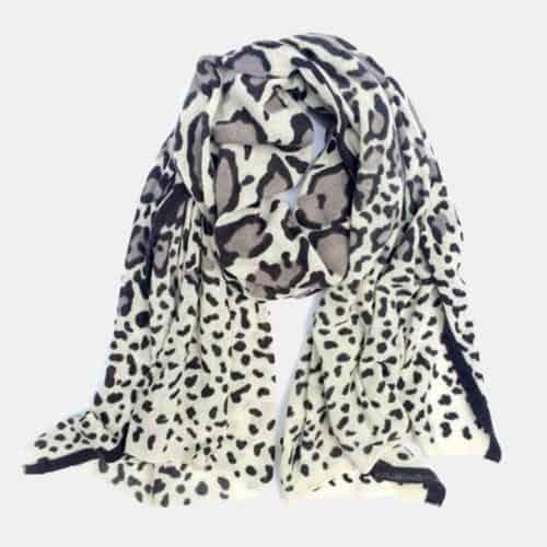 Snow Leopard Scarf 1