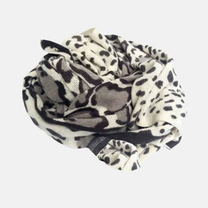 Snow Leopard Scarf 4