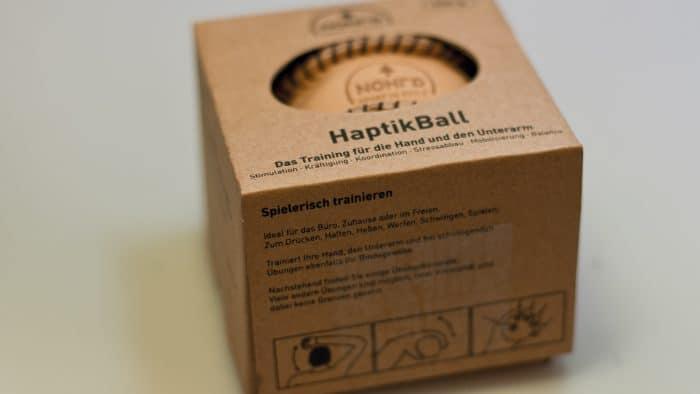 HaptikBall aus Echtleder 4