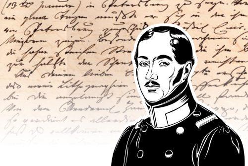 SEKRÈ MYSTERY BAG - »In Love with Countess Auguste No.1«/König Friedrich Wilhelm 5
