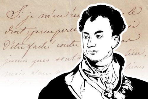 Le beau Clement / Clemens Fürst von Metternich