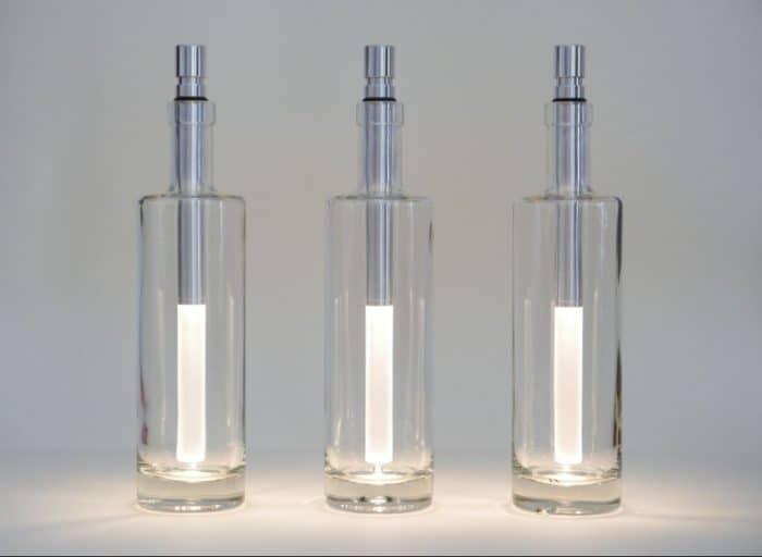 BOTTLELIGHT Flaschenleuchte kaltweiß